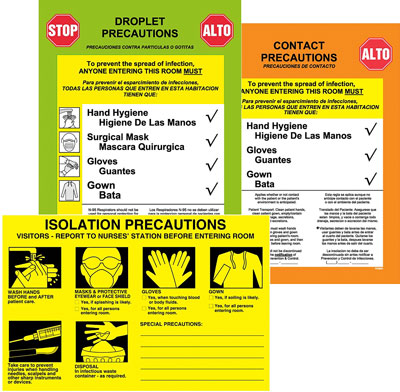 UAL Corona Virus Labels
