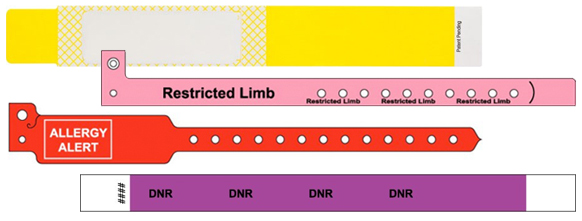 Wristband Labels
