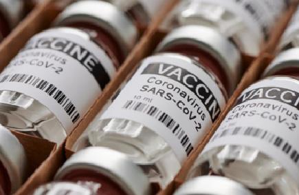 COVID Vaccine Label Example